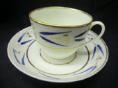 NO LONGER AVAILABLE  - BLOOR Derby bute cup & saucer